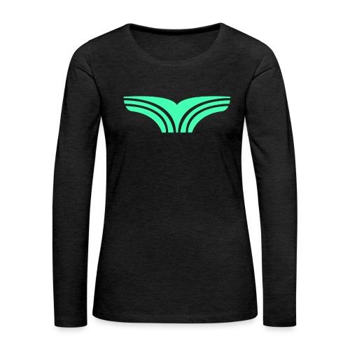Boyga Regular V-hals - Premium langermet T-skjorte for kvinner
