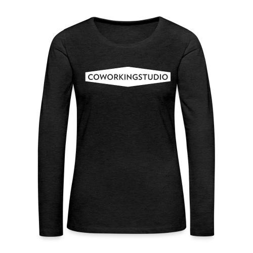 Coworkingstudio - Frauen Premium Langarmshirt