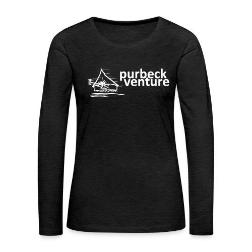 Purbeck Venture Active white - Women's Premium Longsleeve Shirt