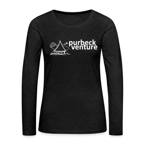 Purbeck Venture Sleepy white - Women's Premium Longsleeve Shirt