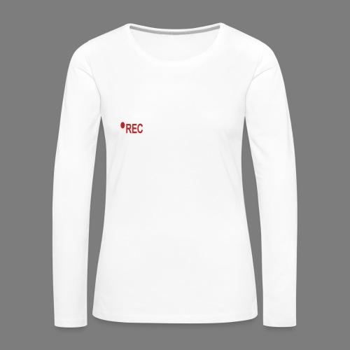 ERFINAL - Vrouwen Premium shirt met lange mouwen