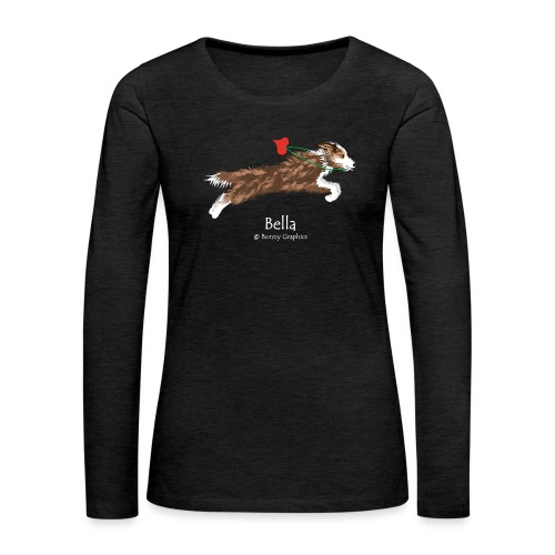 Custom design Bella - Women's Premium Longsleeve Shirt