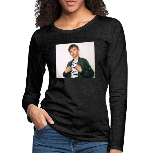 FE9C6D2A 8234 4306 9426 E7820F70FEA6 - Långärmad premium-T-shirt dam