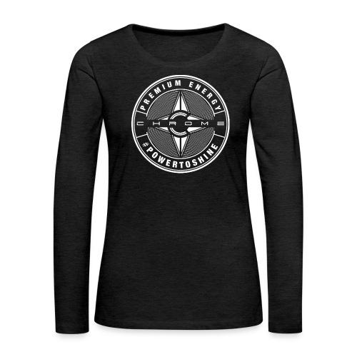 Chrome Logo #powertoshine - Women's Premium Longsleeve Shirt