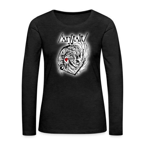 wesen mit herz und logo - Frauen Premium Langarmshirt