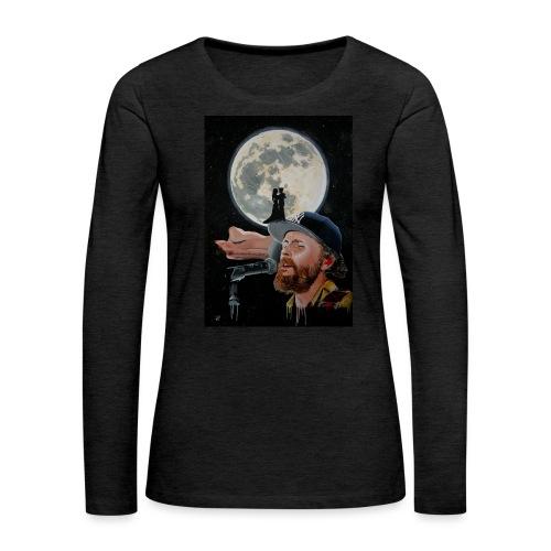 Chiaro di Luna - Maglietta Premium a manica lunga da donna