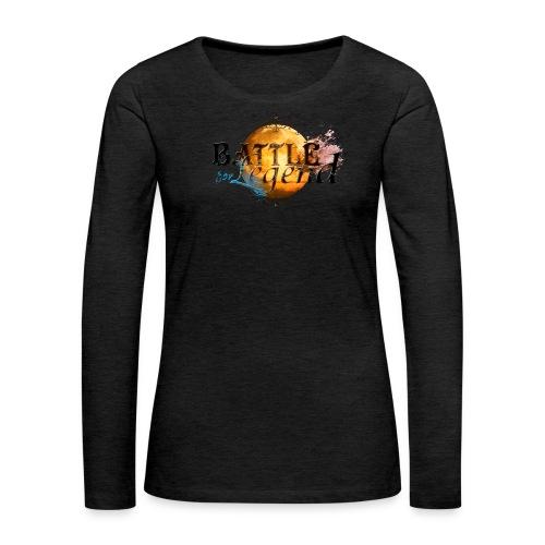 Logo Battle for Legend. - T-shirt manches longues Premium Femme
