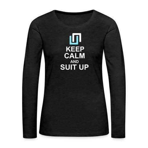 Neon Suit Up - Women's Premium Longsleeve Shirt