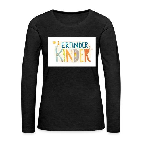 Logo Erfinderkinder - Frauen Premium Langarmshirt