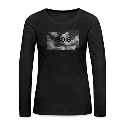 BOIS HÆTTETRØJE - Dame premium T-shirt med lange ærmer