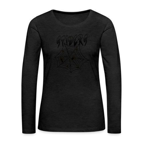 Spiders - Naisten premium pitkähihainen t-paita
