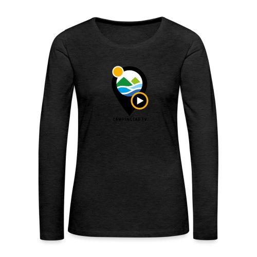 Picto CCTV Black - T-shirt manches longues Premium Femme