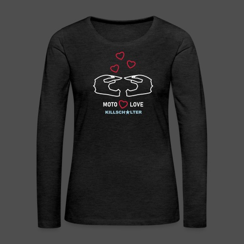 MOTOLOVE 9ML03 W - Women's Premium Longsleeve Shirt