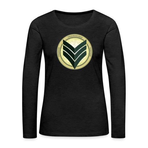 VVV Motorweekend - Vrouwen Premium shirt met lange mouwen
