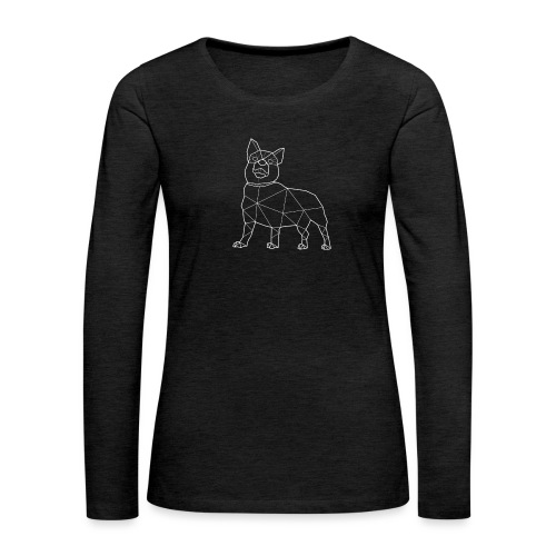 LOKI - Naisten premium pitkähihainen t-paita