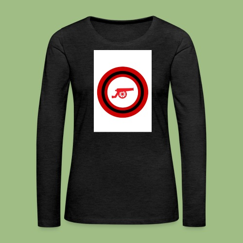 Cannon - Circle - Långärmad premium-T-shirt dam