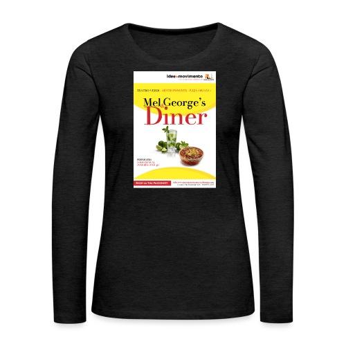 Mel-George-s_diner - Maglietta Premium a manica lunga da donna