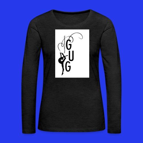 GUG logo - Frauen Premium Langarmshirt