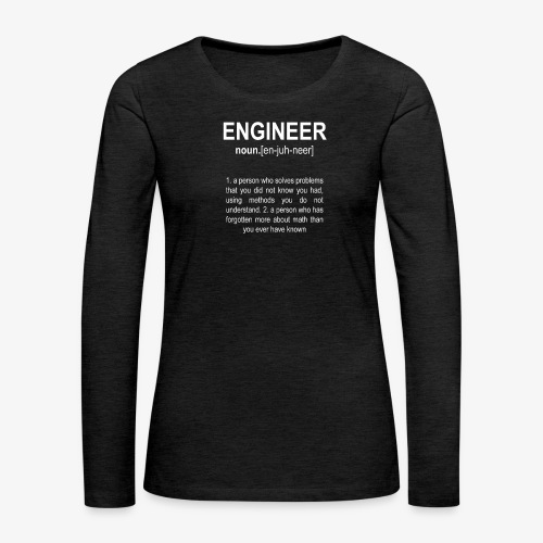 Engineer Def. 2 - T-shirt manches longues Premium Femme