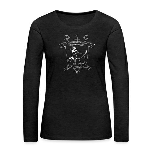 T-paita, tavallinen - Naisten premium pitkähihainen t-paita