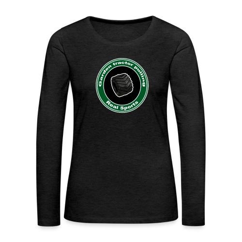 børne Real Tractor Pulling - Dame premium T-shirt med lange ærmer
