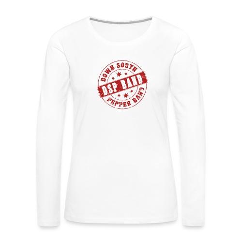 DSP band logo - Women's Premium Longsleeve Shirt