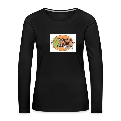 nixenmeer - Vrouwen Premium shirt met lange mouwen