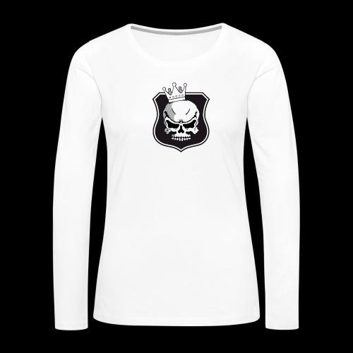 CrossFit Tuusula BW - Naisten premium pitkähihainen t-paita