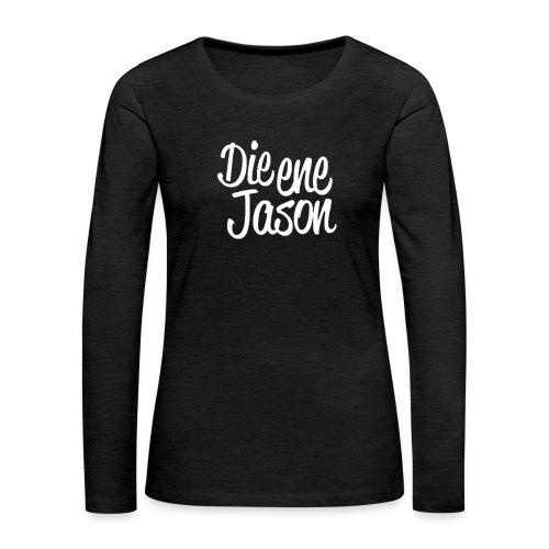 DieEneJason Hoodie - Vrouwen Premium shirt met lange mouwen