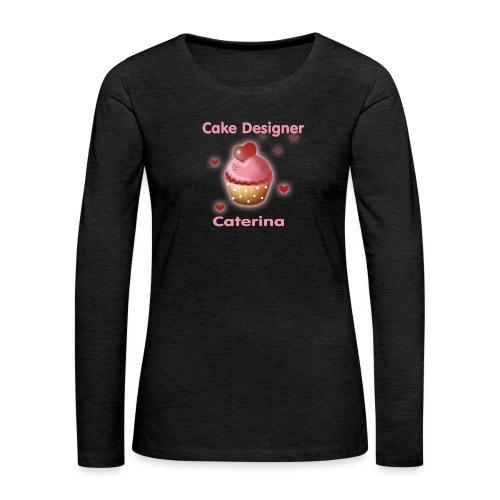 cupcakke - Maglietta Premium a manica lunga da donna