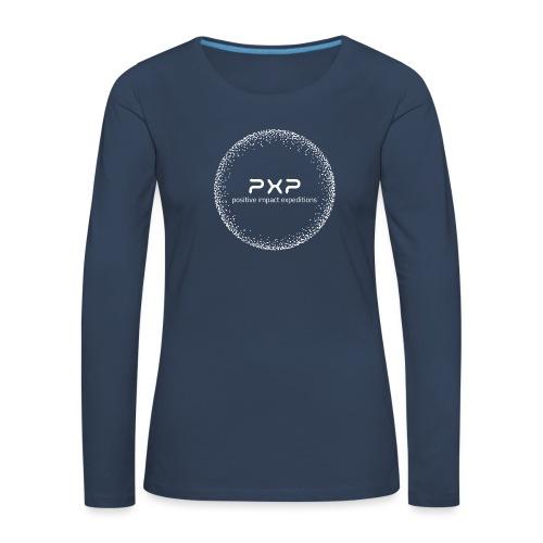 white logo transparent 2x - Women's Premium Longsleeve Shirt