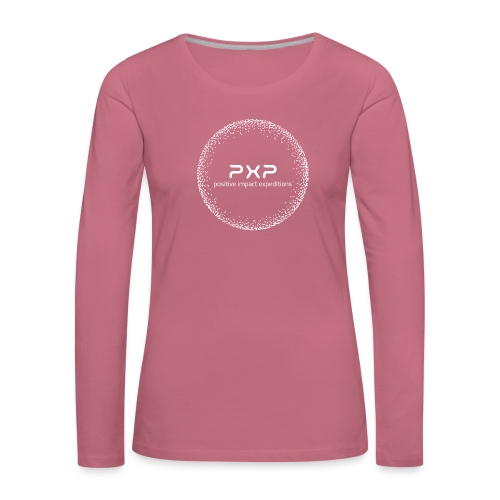 white logo transparent 2x - Women's Premium Longsleeve Shirt