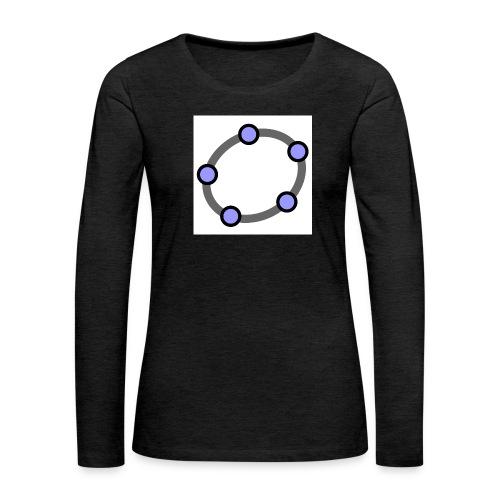 GeoGebra Ellipse - Women's Premium Longsleeve Shirt