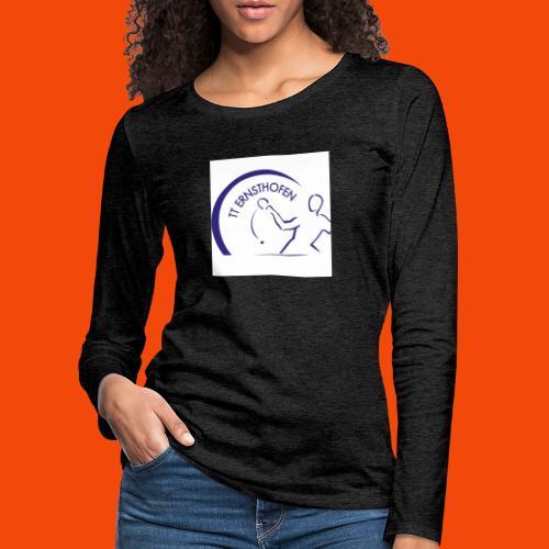TTE Logo - Frauen Premium Langarmshirt