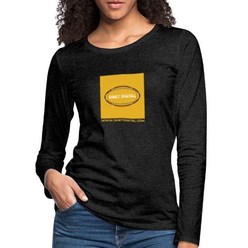 SINET DIGITAL - T-shirt manches longues Premium Femme