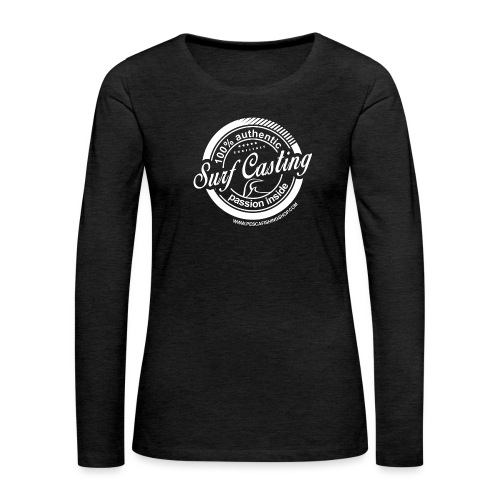 SURF CASTING - Maglietta Premium a manica lunga da donna