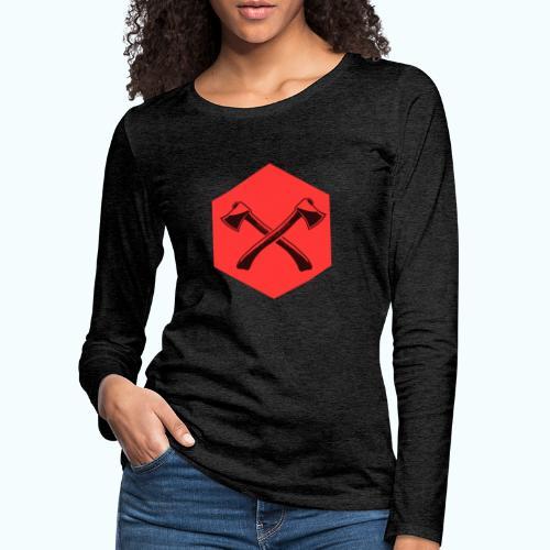 Hipster ax - Women's Premium Longsleeve Shirt