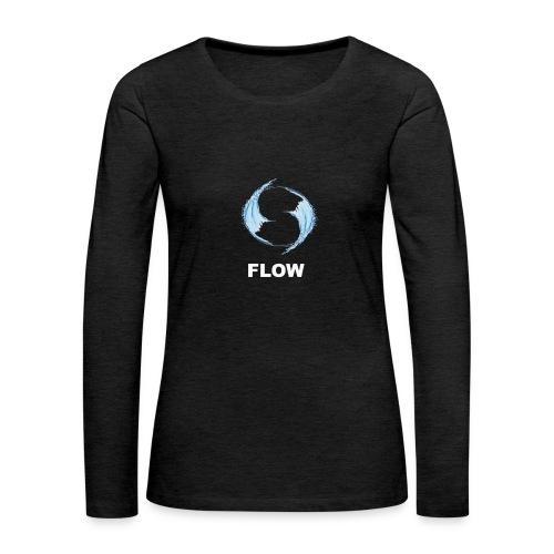 FLOW - Camiseta de manga larga premium mujer