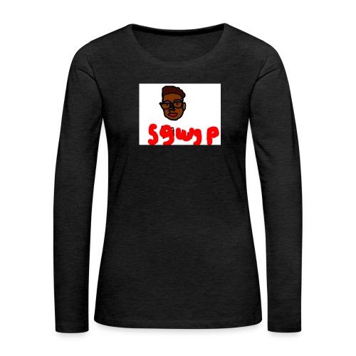 logosgwsp - Vrouwen Premium shirt met lange mouwen