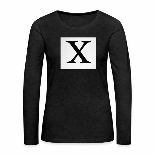 THE X - Women's Premium Longsleeve Shirt