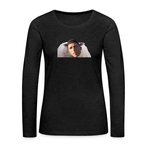 TVS het Armo Schaap en SHIT - Vrouwen Premium shirt met lange mouwen
