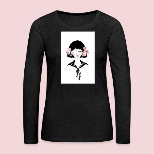Flowerhead - Women's Premium Longsleeve Shirt