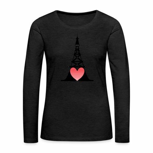 Romance - Camiseta de manga larga premium mujer