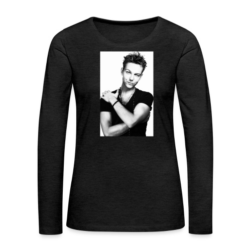 handsome guy - Women's Premium Longsleeve Shirt