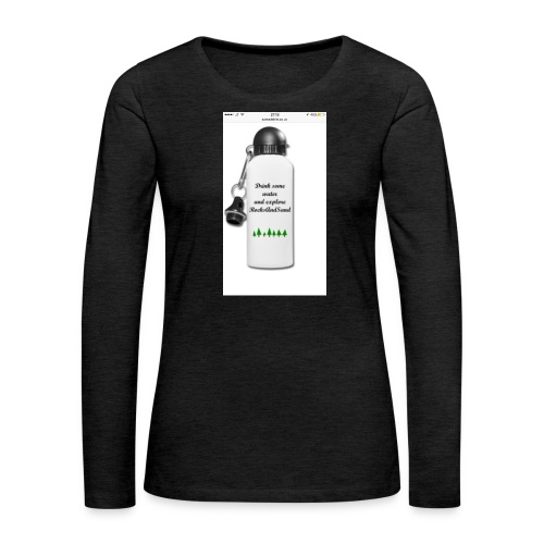 RocksAndSand adventure bottle - Women's Premium Longsleeve Shirt