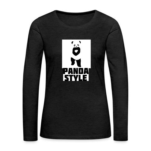 fffwfeewfefr jpg - Dame premium T-shirt med lange ærmer