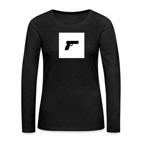 geweer_318-1424-jpg - Vrouwen Premium shirt met lange mouwen
