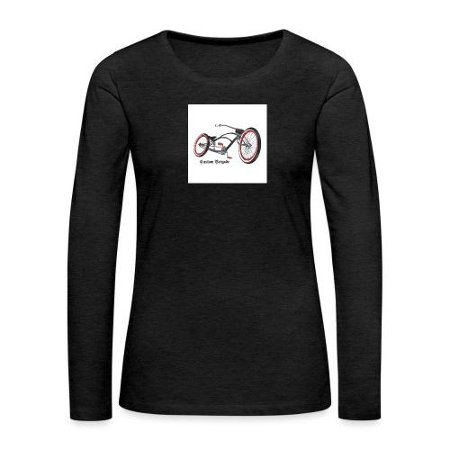 badge007 - T-shirt manches longues Premium Femme