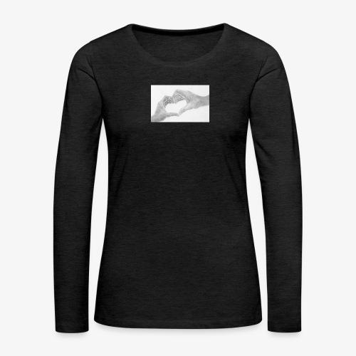 body bébé - T-shirt manches longues Premium Femme