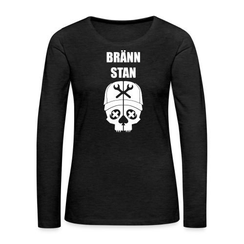 Bränn stan - Långärmad premium-T-shirt dam